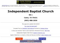 Independent Baptist Church