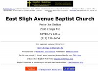 East Sligh Avenue Baptist Church