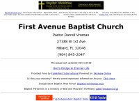 First Avenue Baptist Church