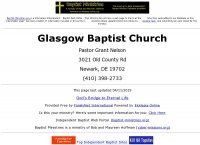 Glasgow Baptist Church