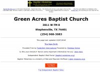 Green Acres Baptist Church