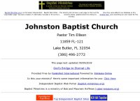 Johnston Baptist Church