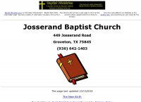Josserand Baptist Church