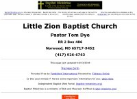 Little Zion Baptist Church